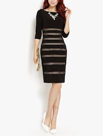 Look-Like-Transparent Lace Dress