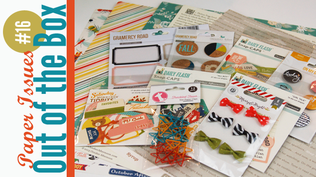 Paper Issues Out of the Box Scrapbooking Haul Video with Jen Gallacher