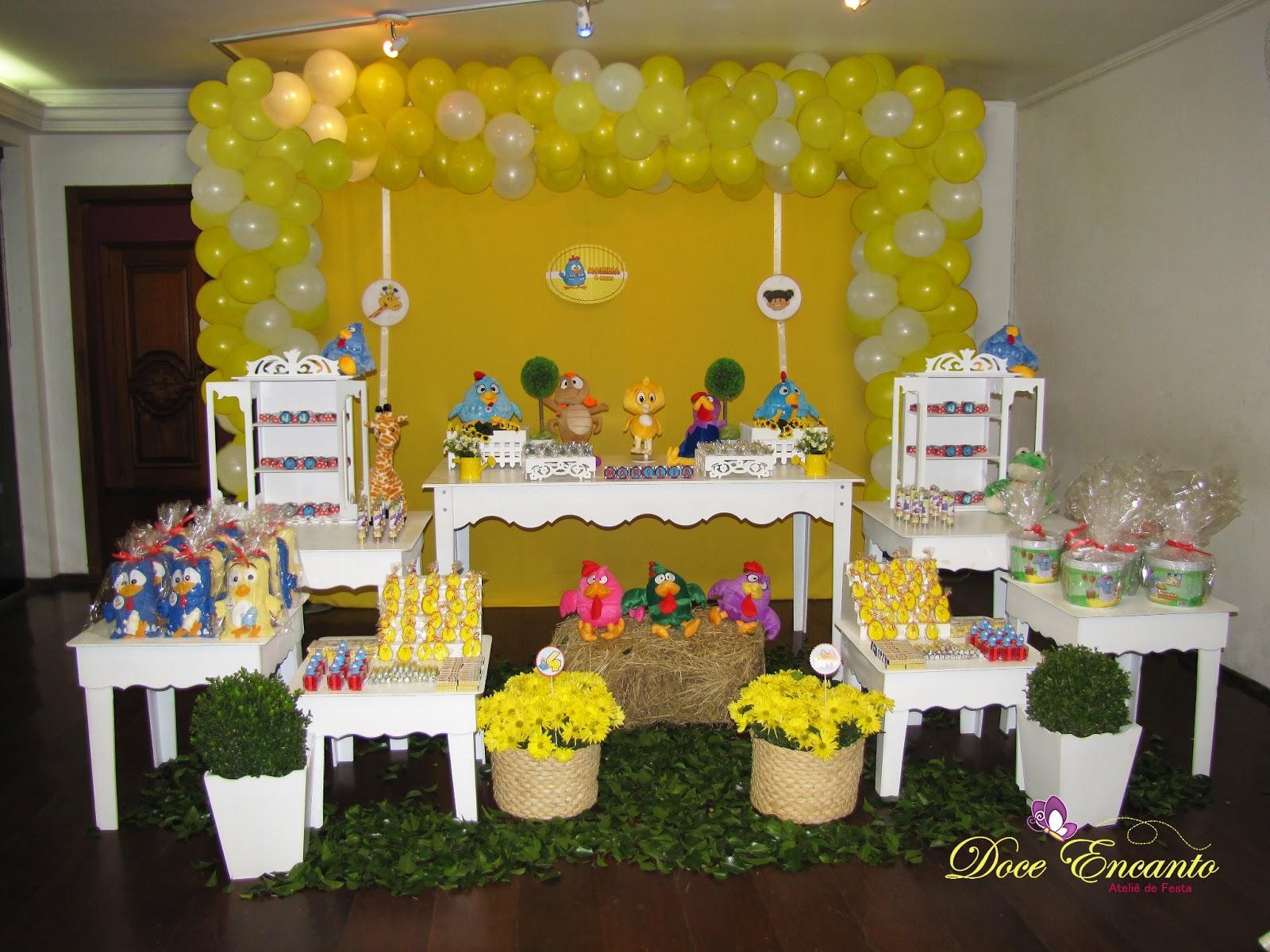 decoracao galinha pintadinha azul e amarelo:Pin Decoracao Carrossel Clean Novela Carregando Ajilbabcom Portal Cake