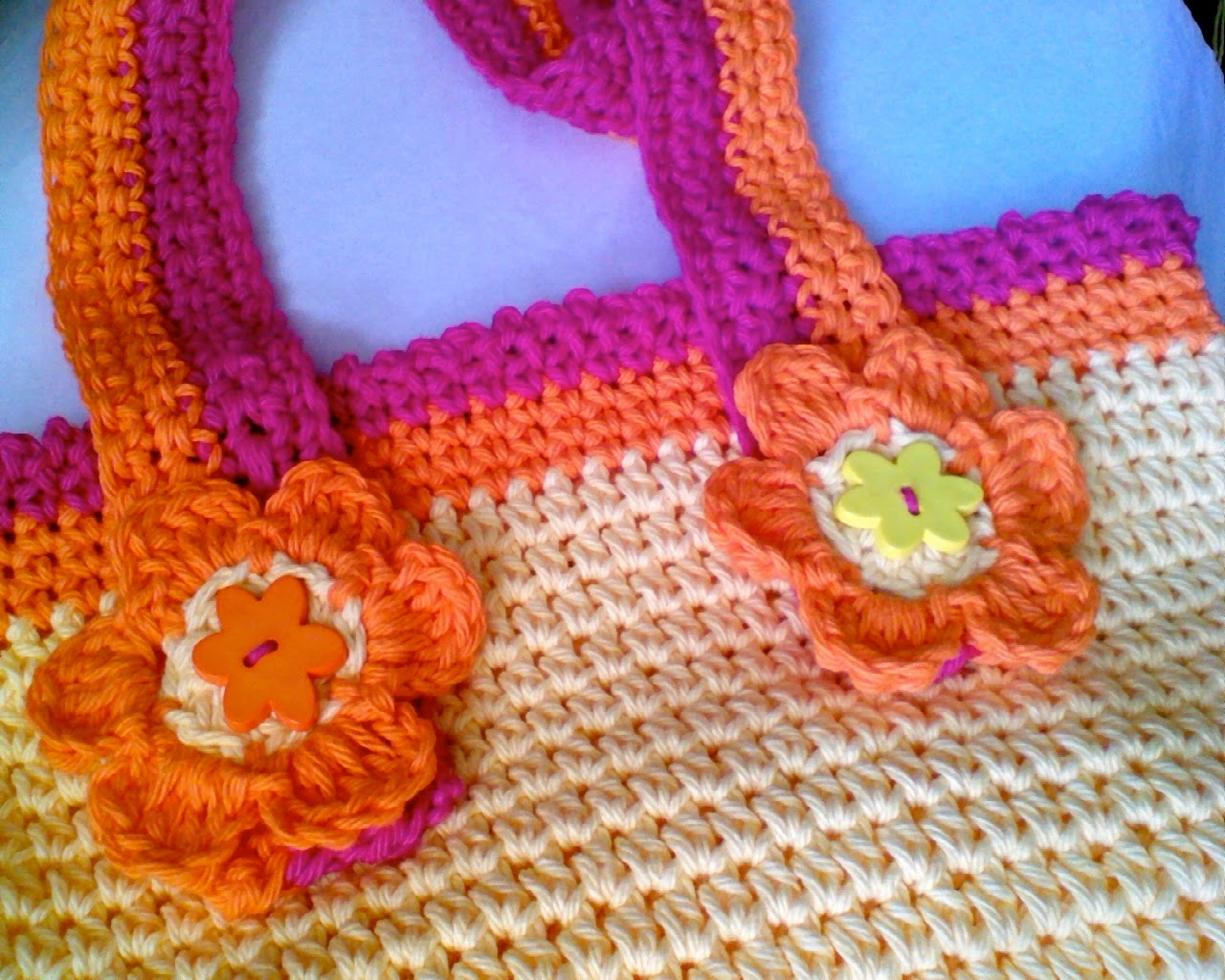... Cottage Kids: New Free Pattern Coming Soon! Crochet Beach Bag