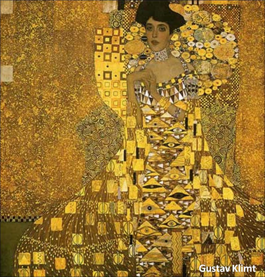 Misturas ao Acaso: Gustav Klimt