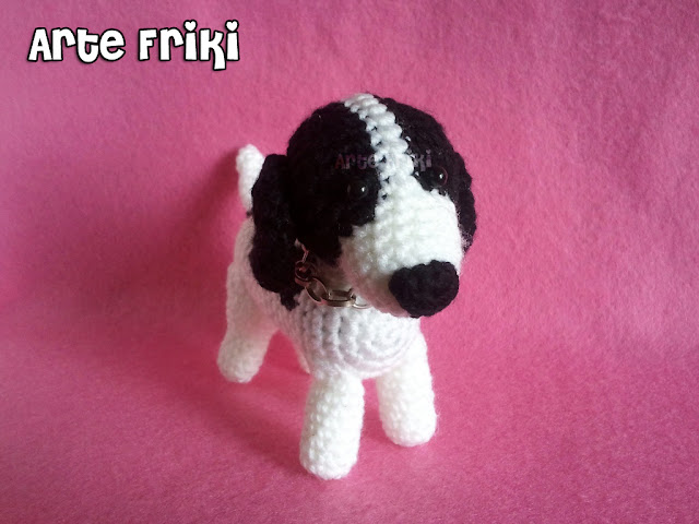 perro amigurumi dog crochet ganchillo peluche plush