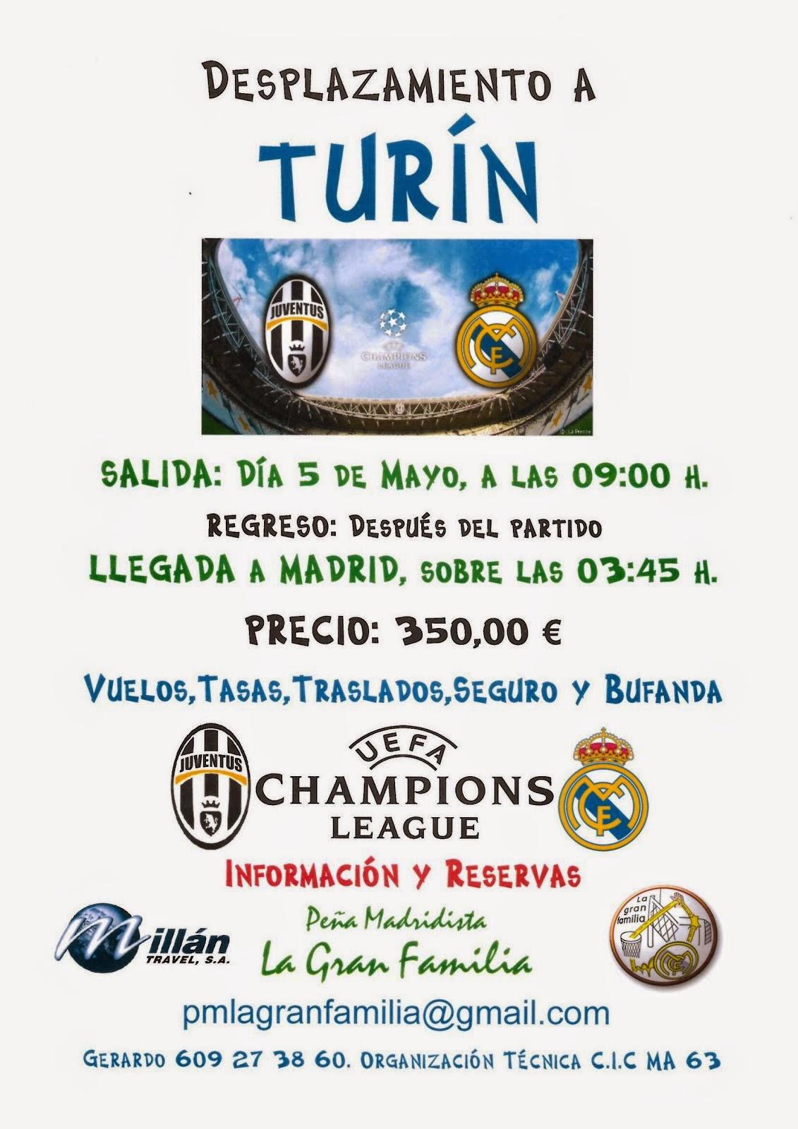 Viaje a Turín