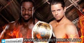 WWE Hell in a Cell 2012 PPV Kofi Kingston vs Miz Intercontinental Title
