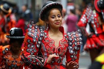 Imagenes de las danzas folkloricas tradicionales mas populares de Bolivia