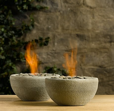 Project 1: Rock + Bowl + Flame ( 31 DIY Projects for Busy Gals)
