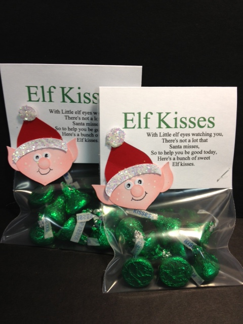 My creative corner elf kisses for Some good christmas treats to make