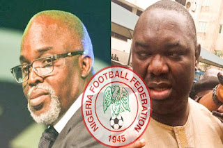 Pinnick vs Giwa: FIFA agent urges Presidency to wade into NFF crisis