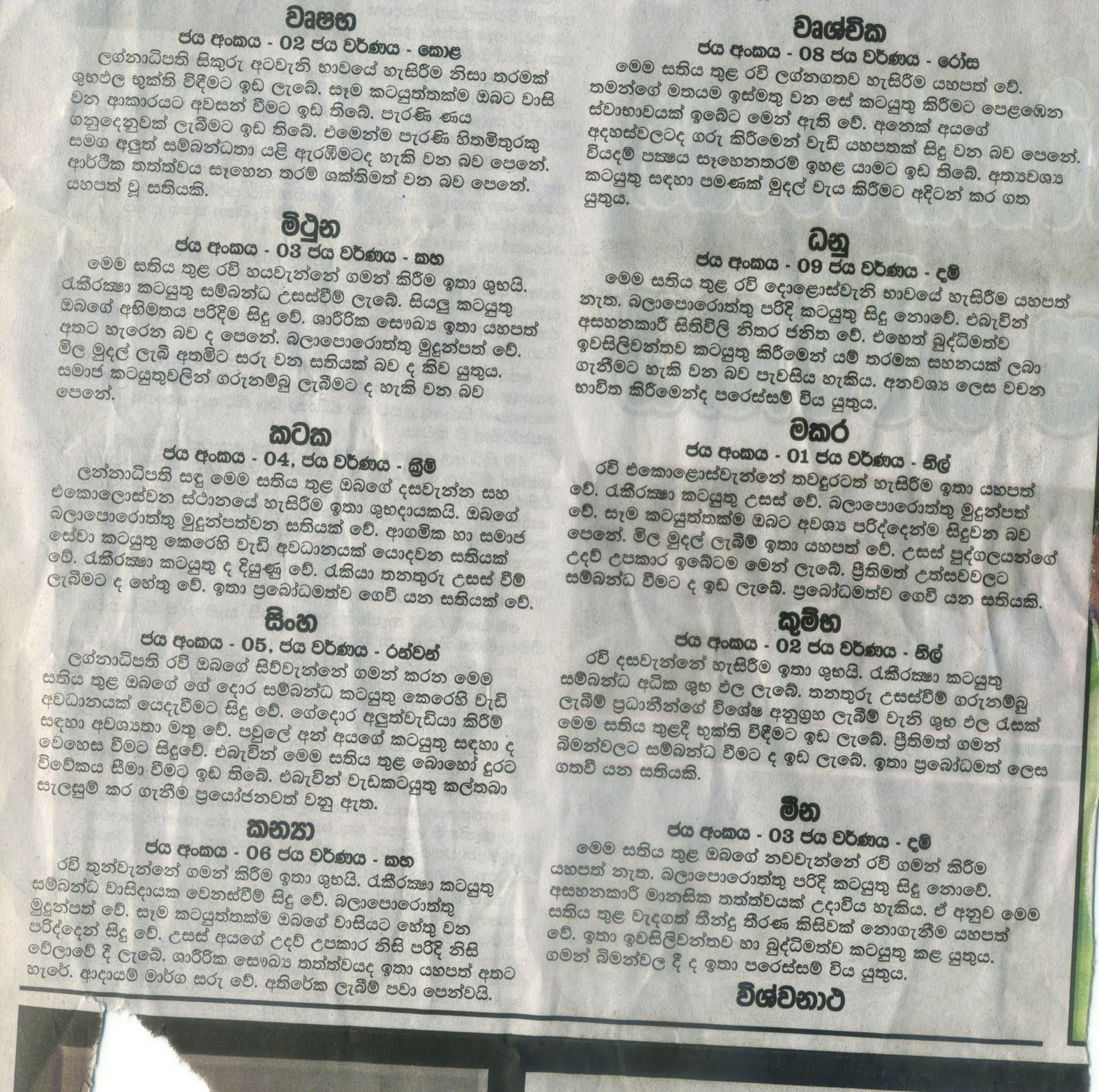 Sri Lanka Badu Contact Numbers