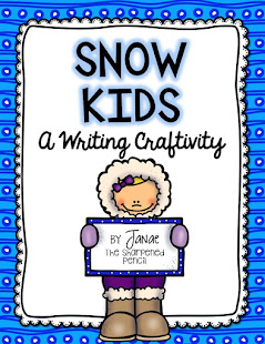 Snow Kids: A Writing Craftivity