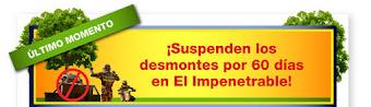 suspenden desmontes