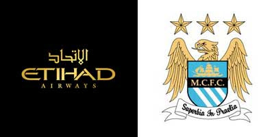 Etihad and Manchester City Logos