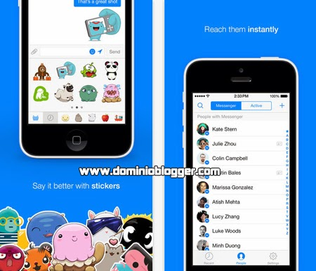 Descarga Facebook Messenger gratis para iOS