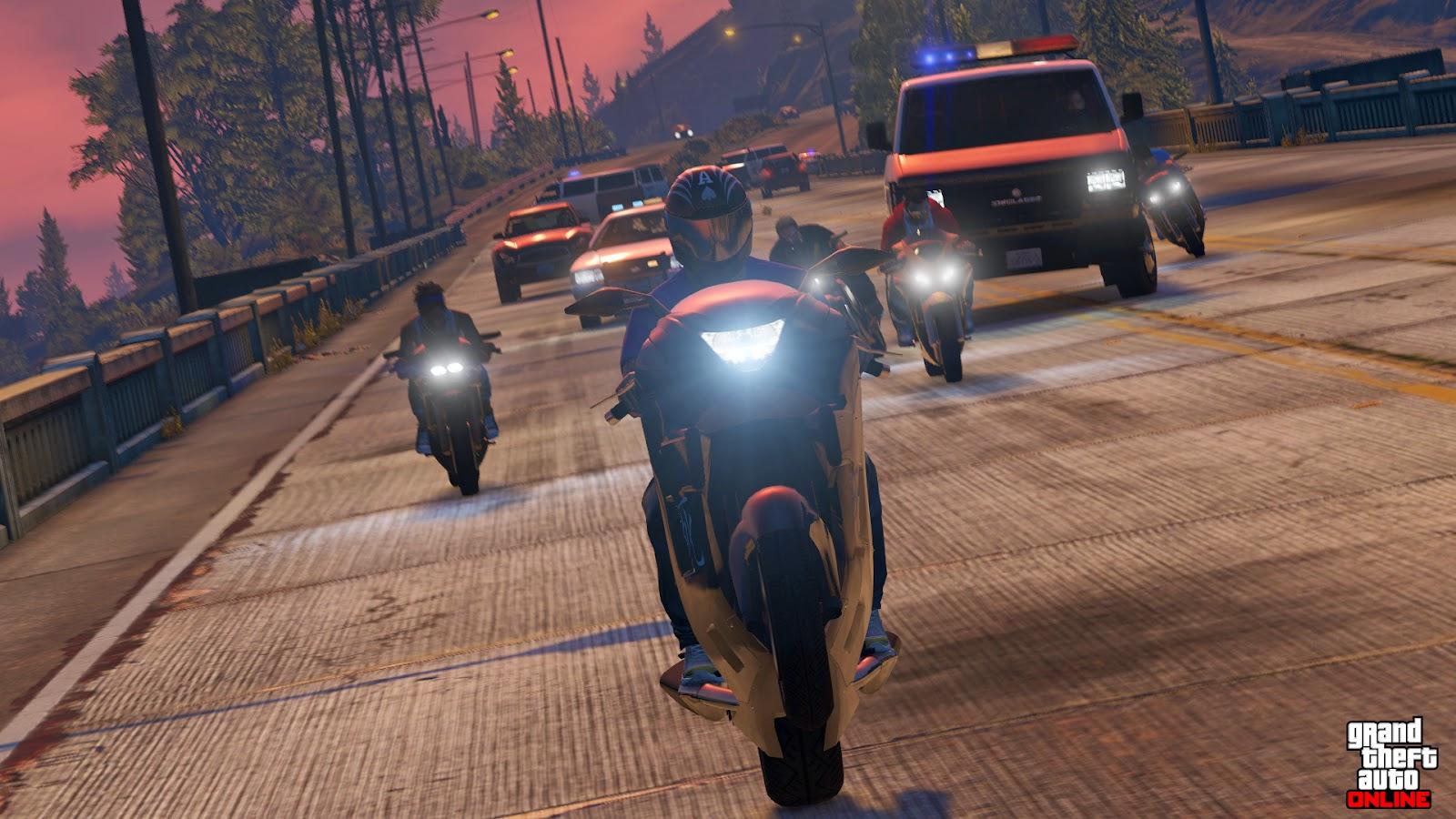 Imagens Em 1080p De Grand Theft Auto V Multi So