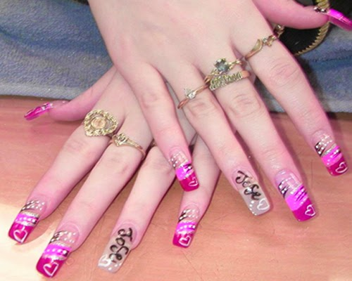 Nail Salon Designs Designs Salon 3d Nail Art
