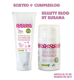Sorteo en Beauty Blog by Susana