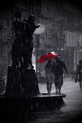 iPhone 4 Rain Theme Wallpaper 640x960