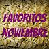 Favoritos Noviembre