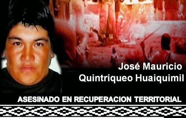 JOSE MAURICIO QUINTRIQUEO HUAIQUIMIL