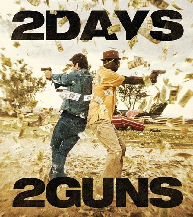 La película 2 Guns ( Armados y peligrosos )