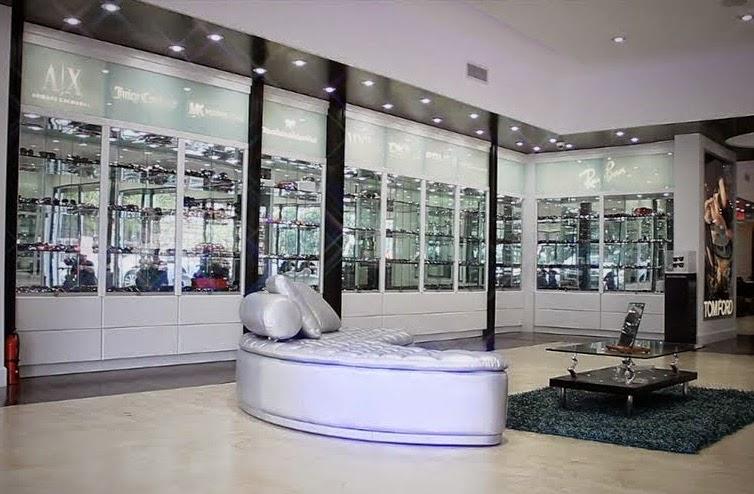 Loja de óculos Lexor Miami