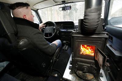 La calefacción en el coche