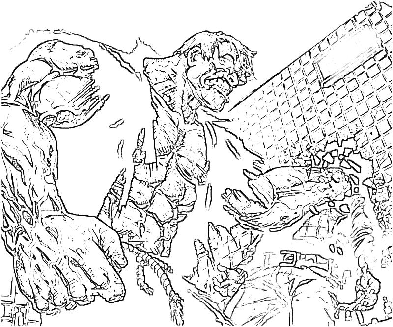 solomon grundy coloring pages - photo#1