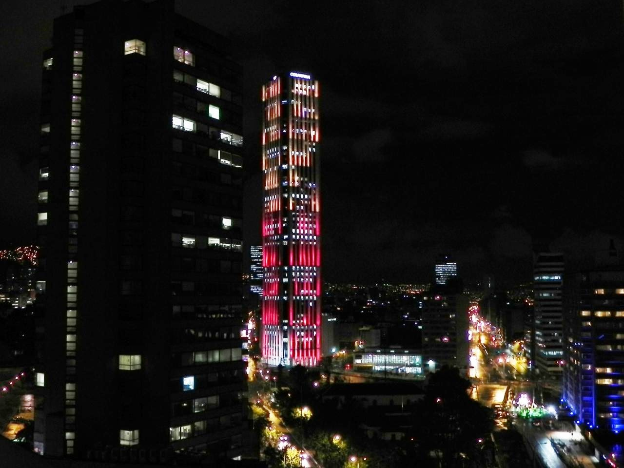 Torre Colpatria de Bogotá, Colombia