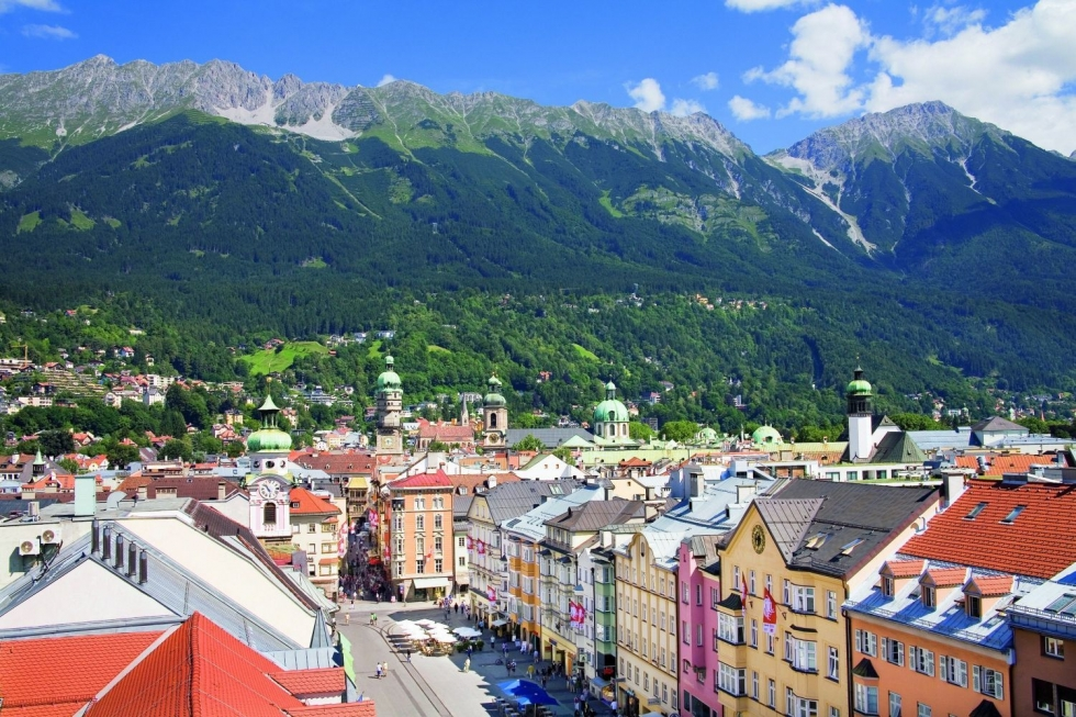 Innsbruck – Capital of Tirol Embedded in the Inn Valley, Austria