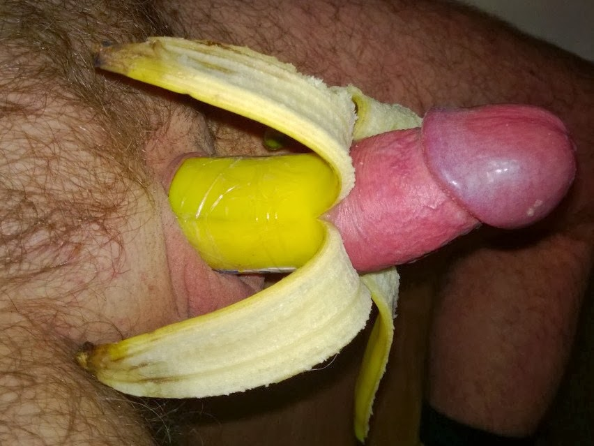 Banana guide big dick