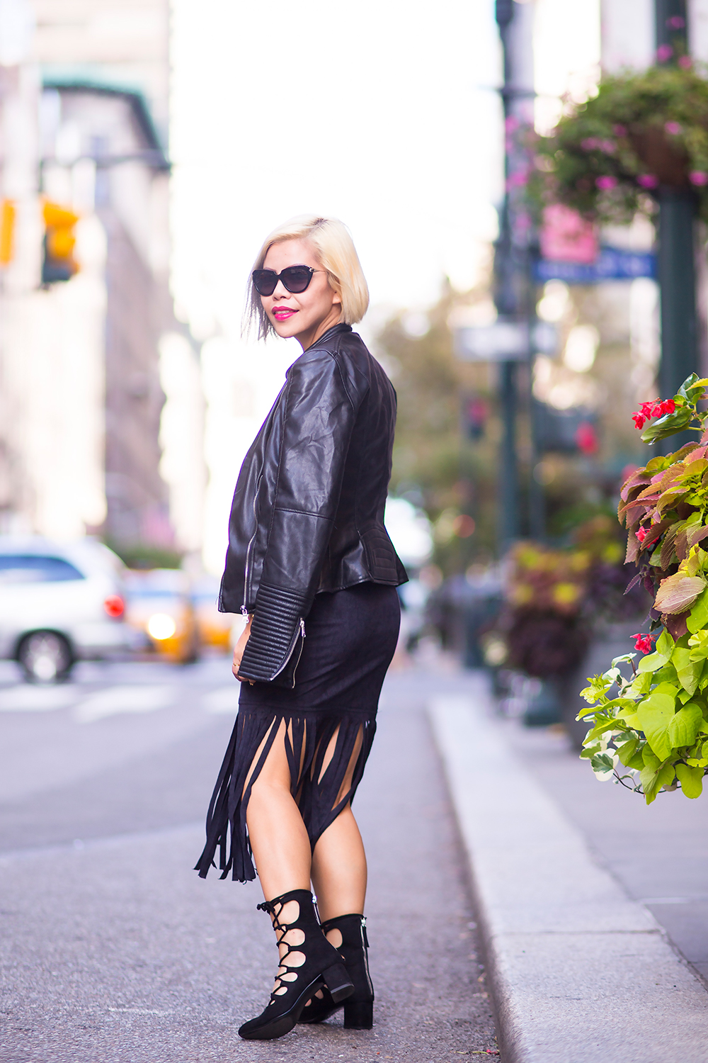 New York Fashion Week 2015 street style- Crystal Phuong- Day 6