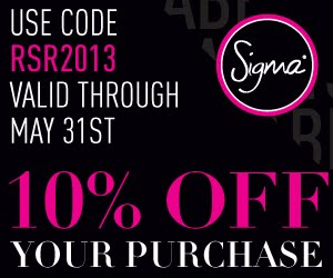 SIGMA May Discount...
