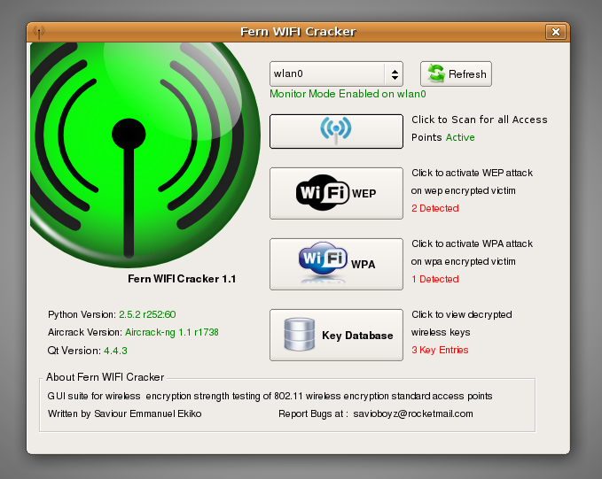 скачать fern wifi cracker для ubuntu 14