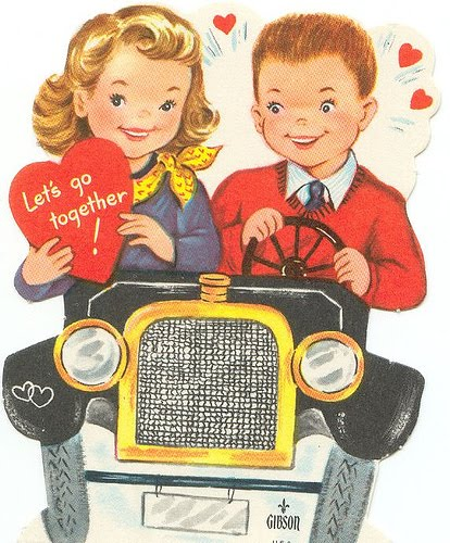 Vintage Valentines Cards