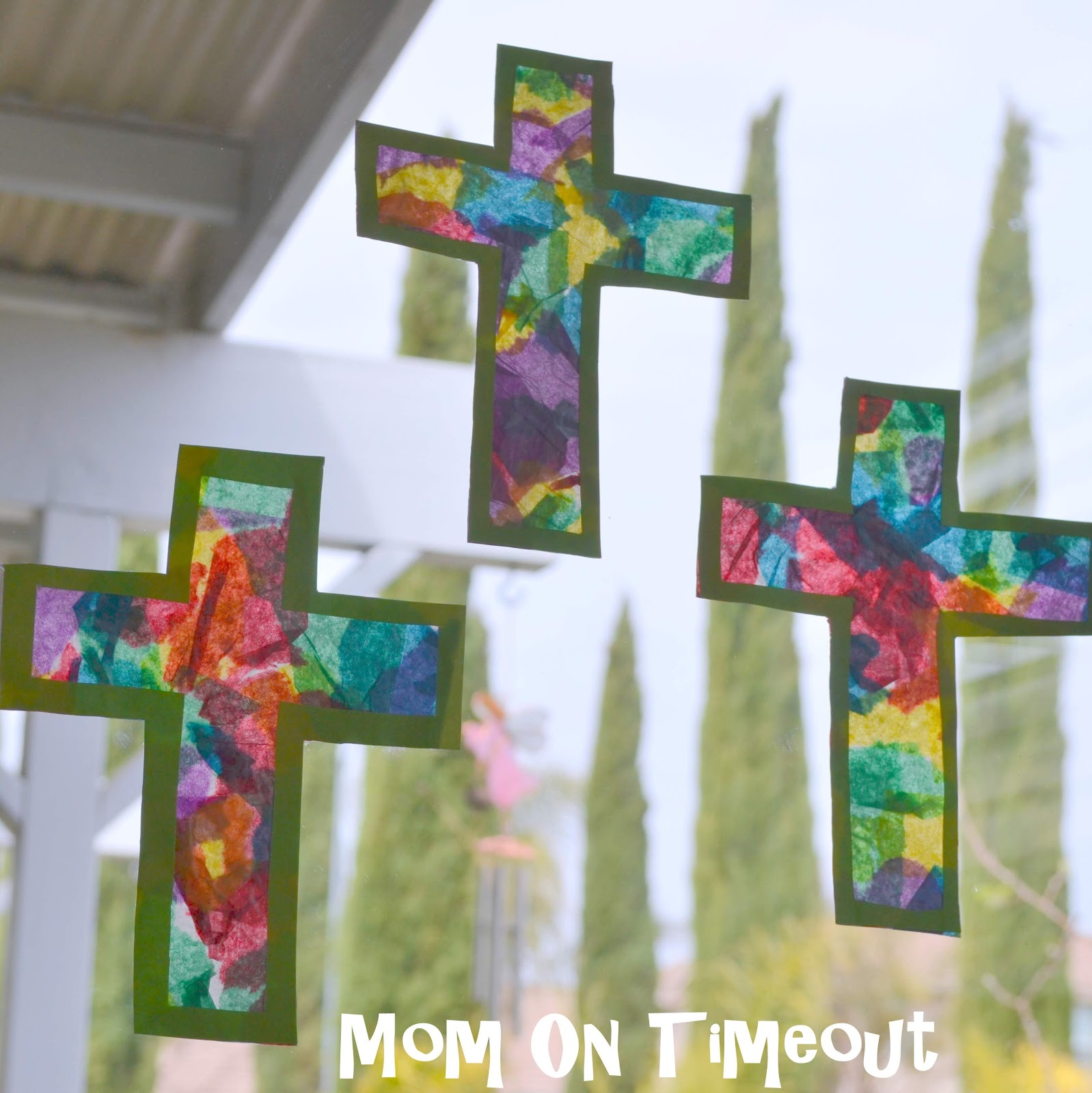Craft Ideas for Making Crosses http://www.michellepaigeblog.com/2012/04/easter-cross-crafts.html