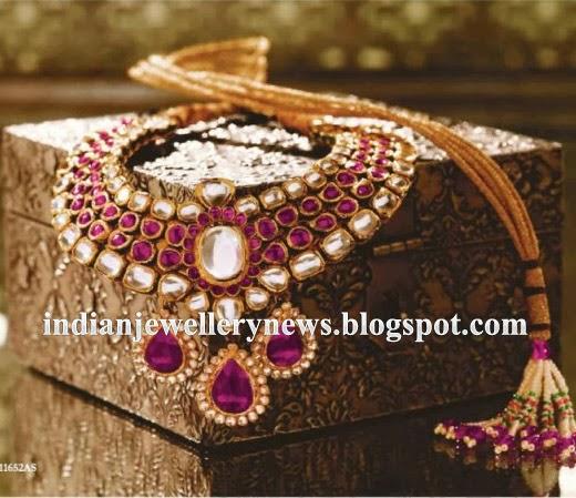 Tanishq's Kundan Polki Necklaces