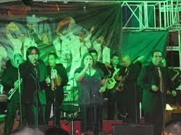 Orquesta nacional Hermanos Flores en carnaval de San Miguel