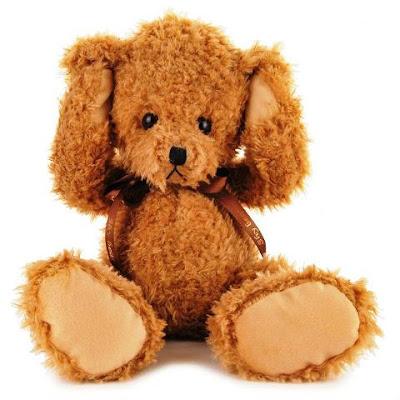 Gambar Lucu Boneka Teddy Bear Cokelat