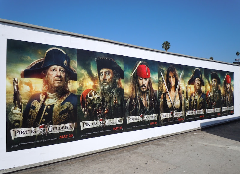 Pirates of the Caribbean 4 movie posters