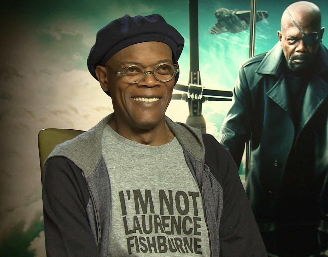 Samuel L. Jackson's Awesome T-Shirt