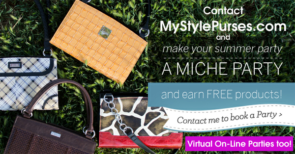 Host a Miche Virtual On-Line Party and Earn FREE Miche Products