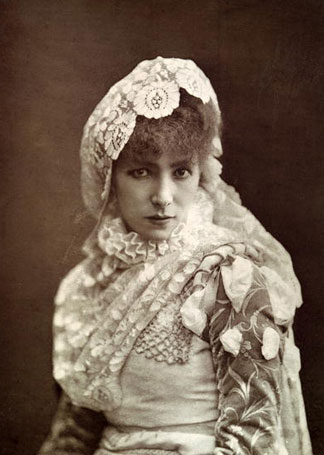 Sarah Bernardt portrait