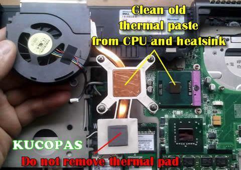 Laptop Panas Dan Mati Atau Hang