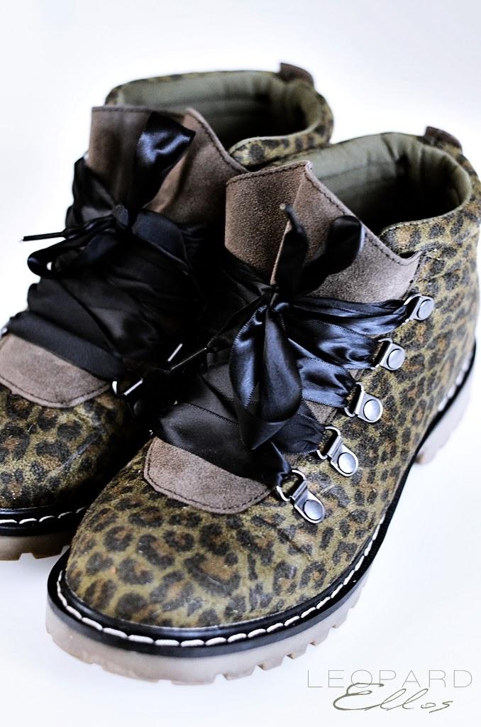 leopardskor, grön leopard, ellos, H&M