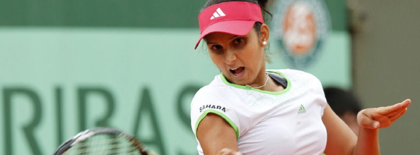Sania Mirza 2013 facebook cover