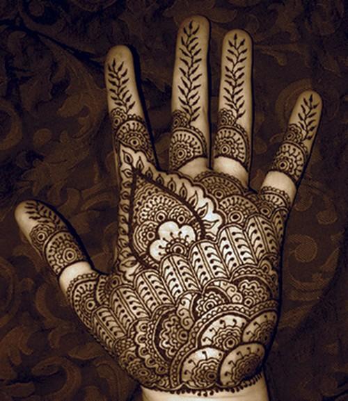 Indian Wedding Mehndi Designs