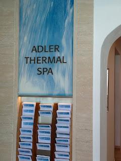 Pleasant living the italian diaries day seventeen - Adler bagno vignoni day spa ...