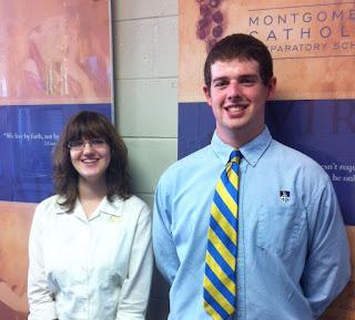 Montgomery Catholic Preparatory School Announces Two National Merit Finalists! 1