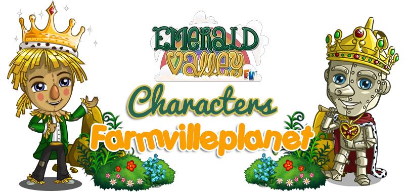 Farmville Emerald Valley Farm Characters!