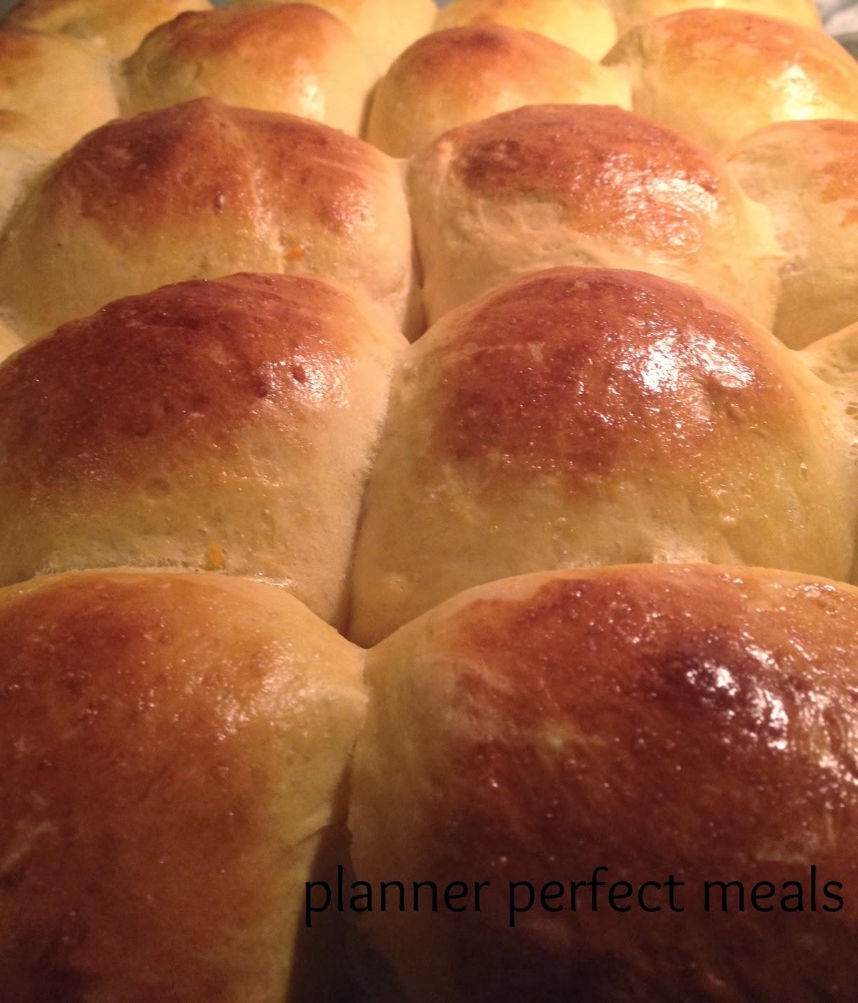 PPM: sweet potato and honey dinner rolls